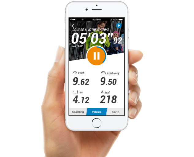 application smartphone decathlon sport