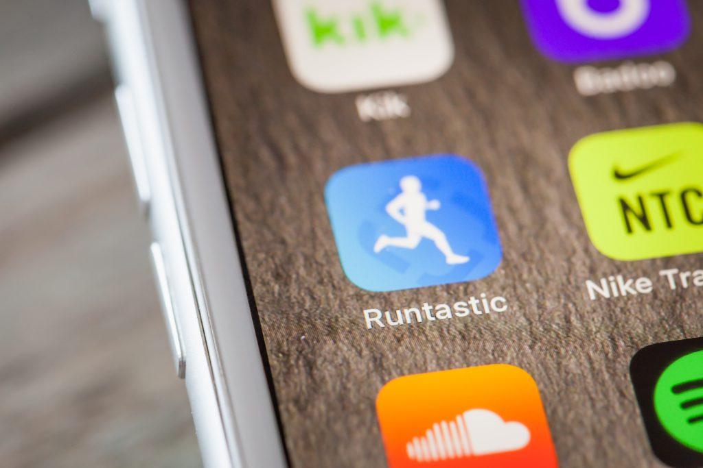 logo application mobile runtastic