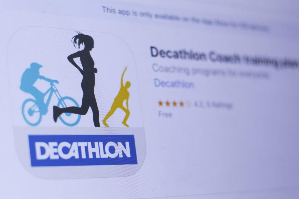 application decathlon coach