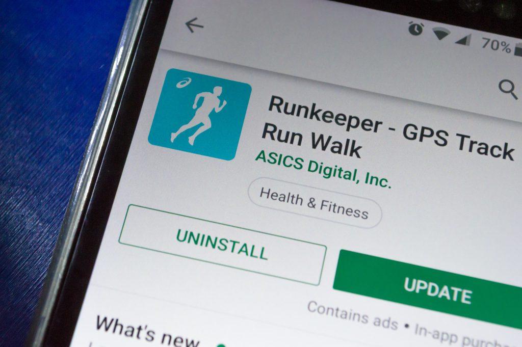 application mobile runkeeper