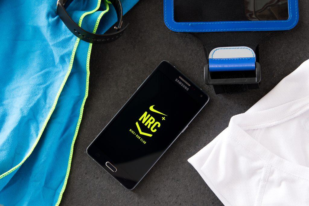 application mobile nike+ run club