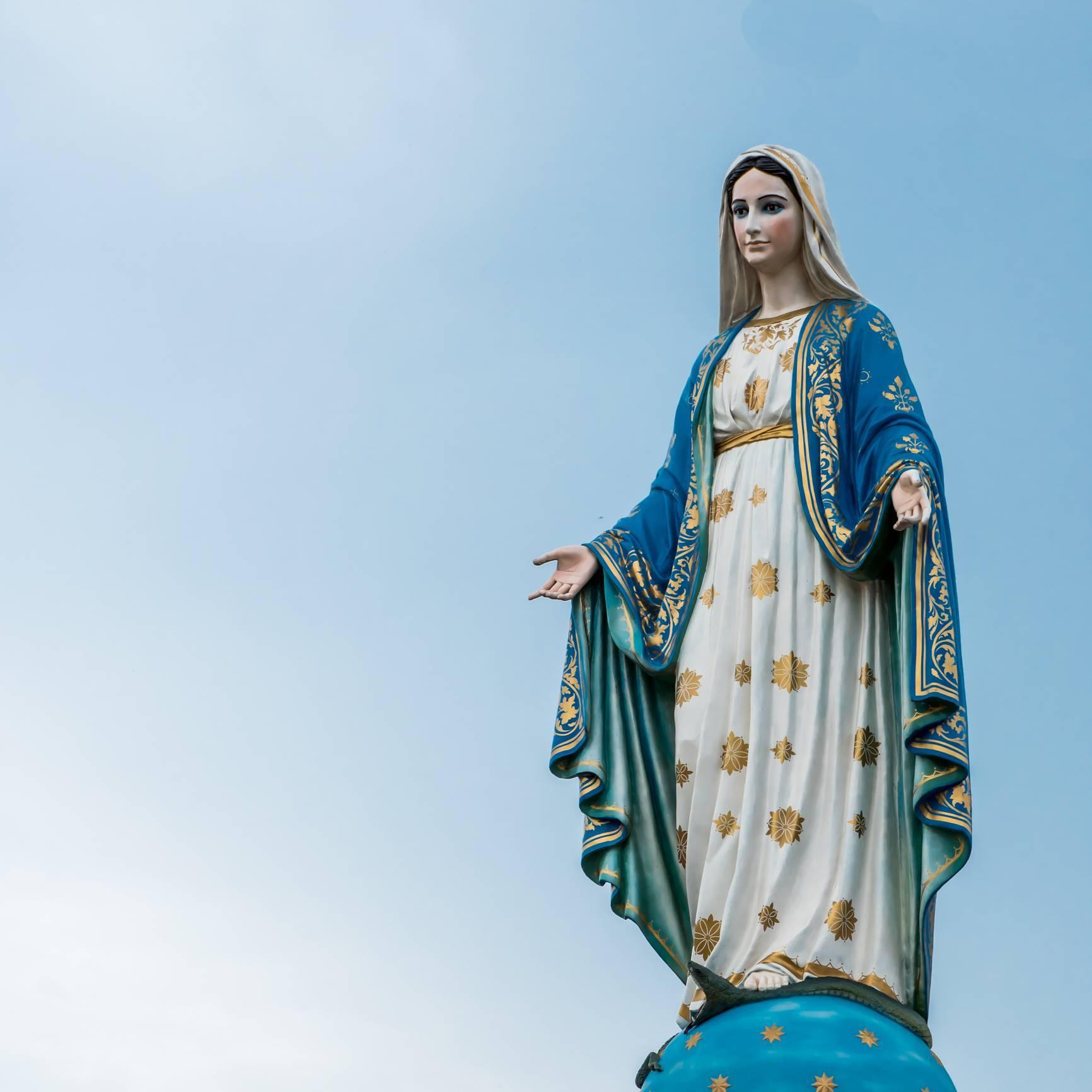 statue Sainte Vierge Marie