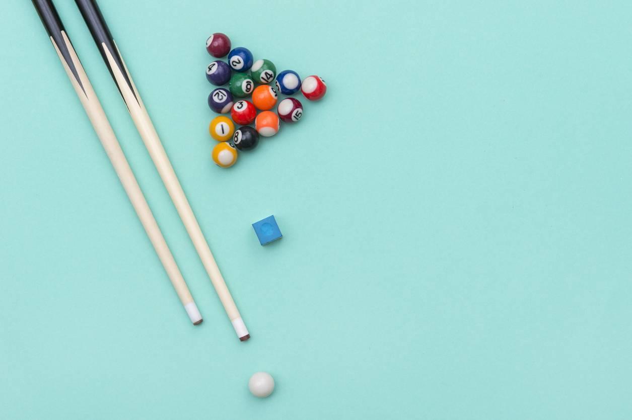 jeu de billard table queue accessoires